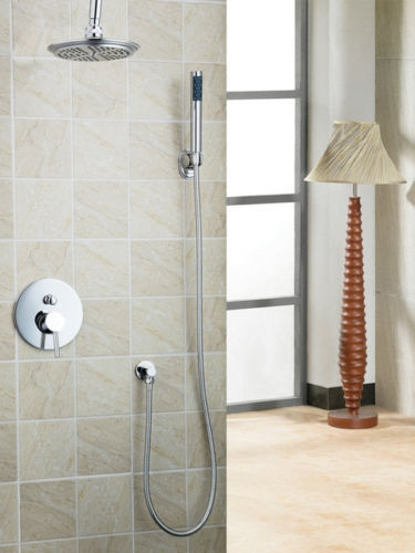Designvolle Chroom Inbouw Douche Set Met Losse Handdouche Plafond